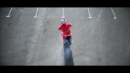 Модернизиран Дядо Коледа - Freestyle Motorbike