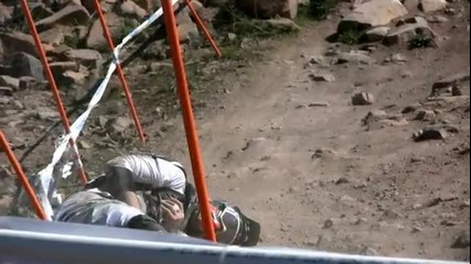 Part 2 of 3 2009 Downhill Mountain Bike World Championships Mt. Stromlo Canberra Australia