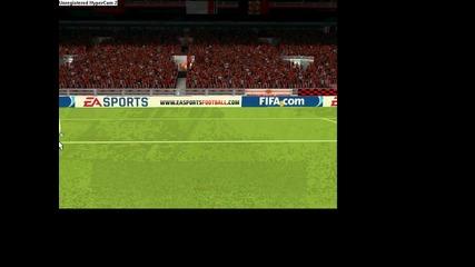 Fifa 10 - Anderson goal