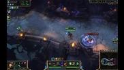3v3 Deep Penetration Part 1 - League of Legends (viktor4ou, Cmf Pro, predamaster)