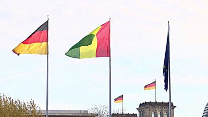 Germany: Merkel greets Guinean President Conde in Berlin
