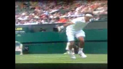 Федерер Най - Доброто му разиграване !!! - уимбълдън