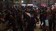 Чилийските фенове подивяха, наложи се полиция да ги укроти