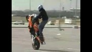 Honda Cbr - Stunt