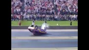 Chevette Wheelie Blow Over