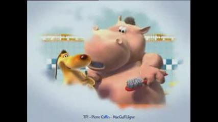 el perro y el hipopotamo - lavarse los dientes