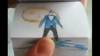 Невероятно! Gangnam Style на хартия