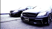 Mercedes Benz S Class W221 and Cls W218 Black Bison Wald