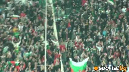 Такава публика трябва да се вижда по Българските стадиони !