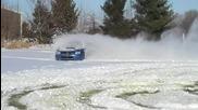 Cубару откача когато усети сняг по гумите си!!!