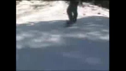 Snowboard Fun - End Of Season