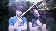 Huge guns with smosh