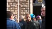 """Металурзите от """"Кремиковци"""" отново протестираха"""