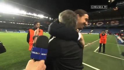 Златан Ибрахимович изненада приятно Жосе Моуриньо по време на интервю