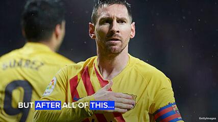 Меси остава в Барселона, но не по негово желание