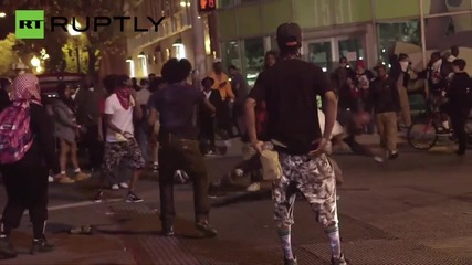 National Guard troops enforce Emergency curfew in Baltimore