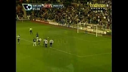 Sunderland : Man Utd - All Goals