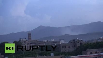 Yemen: Saudi-led coalition airstrikes target Republican Guard camp