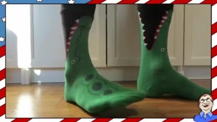 Луди чорапи на крокодил