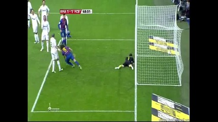 Реал ( Мадрид ) 1:1 Барселона - Гол на Пуйол 18.01.12