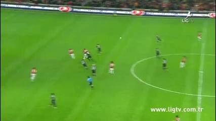 Galatasaray 3 - 2 Besiktas (genis Ozet) 26.02.2012