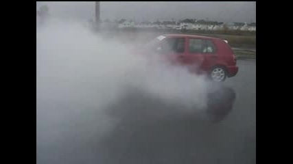 Vw Golf 3 Burn Out