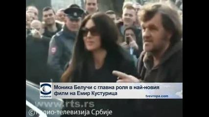 Моника Белучи ще играе в новия филм на Кустурица
