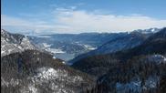 Събуждане на езерото Bohinj - Словения [ Time lapse ]