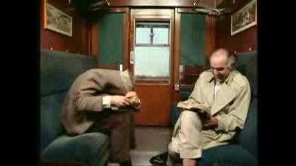 Mr.bean Във Влака