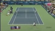 удар на Федерер срещу Дабул !