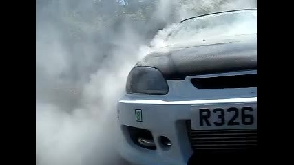 Honda Civic Turbo Burnout