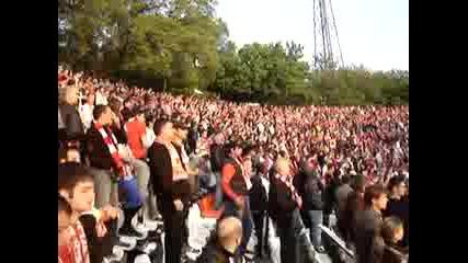 Цска - левски - Червените Фенове *10.05*