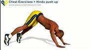 Упражнение за гърди, рамене и трицепс..