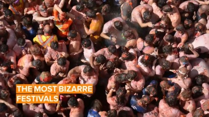 Five bizarre festivals from around the world