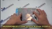 Ramos X10 pro Mediatek Mt8389 Quad Core 7.9 inch Ips With Android 4.1 Dual Camera 3g Tablet Pc