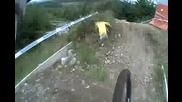 Mountain Bike - Greg Minnaar Кара и Коментира Едновременно