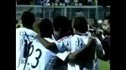 Феномена Изригна! Р О Н А Л Д О с 3 гола за победата на Коринтианс с 4:2!!! *09.07.2009г.*