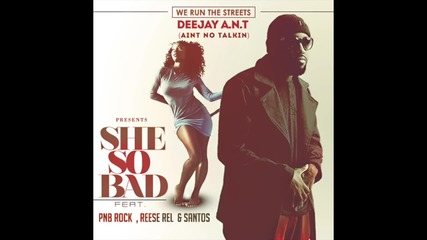 Deejay A.n.t. Feat. Pnb Rock x Santos x Reese Rel - She So Bad