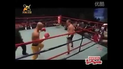 Боксьор срещу монах от Шаолин! Кой ще победи!?