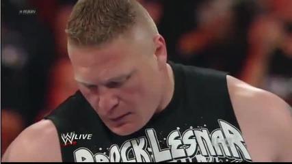 Brock Lesnar's is Back 04-02-2012