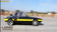 Fiat X1/9 400hp Drag Race