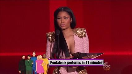 Nicky Minaj rap hip hop artist- Аmerican Music Awards-22.11.2015