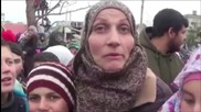"""Syria: """"Save our childhood"""" - Fuaa village residents call on NGOs to help lift seige"""