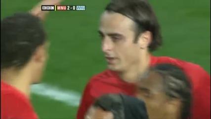 Вълшебната асистенция на Бербатов с екипа на Юнайтед !