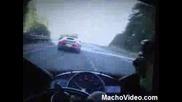 BugattI Veyron Vs Yamaha R1 Vs Porsche Carrera GT