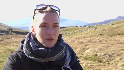 Kate Winslet Picks Up Some Interesting Wilderness Skills