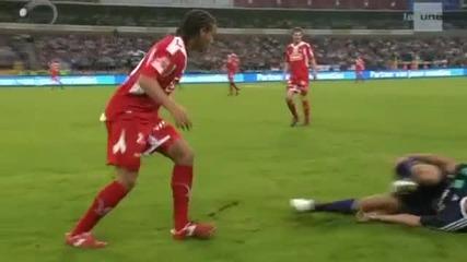 Най - бруталният футболист в момента! ( Част 3 )