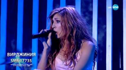 Вирджиния Събева превърна песента на Ани Ленъкс Sweet Dreams в своя- X Factor Live (29.10.2017)