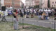 Italy: Mourners gather in Rome to remember 21yo black man beaten to death