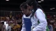 Младежки олимпийски игри 2010 - Таеклондо Жени над 63 кг Серий